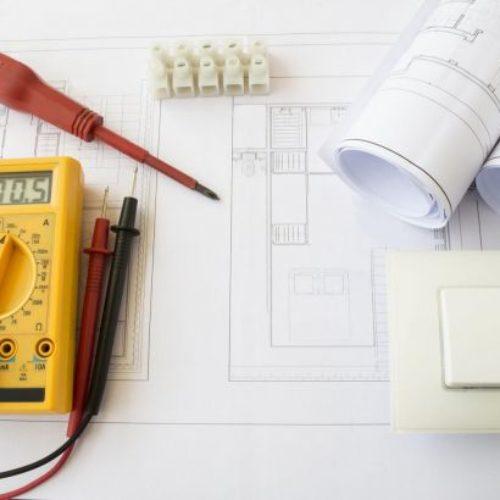 schema electrique multimetre et outil